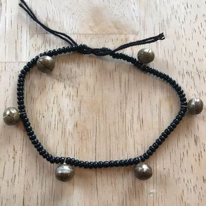 Glass and Metal Wish Bracelet